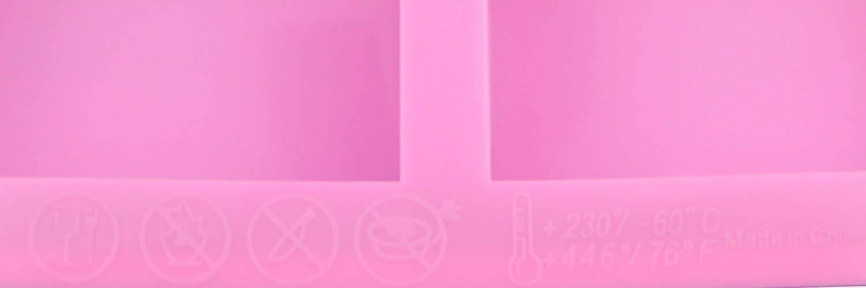 HOSL confezione da 2 pezzi 6 cavit/à-Stampo rettangolare in Silicone per le Craft-Stampo per torta Stampo per cubetti di ghiaccio in tinta unita