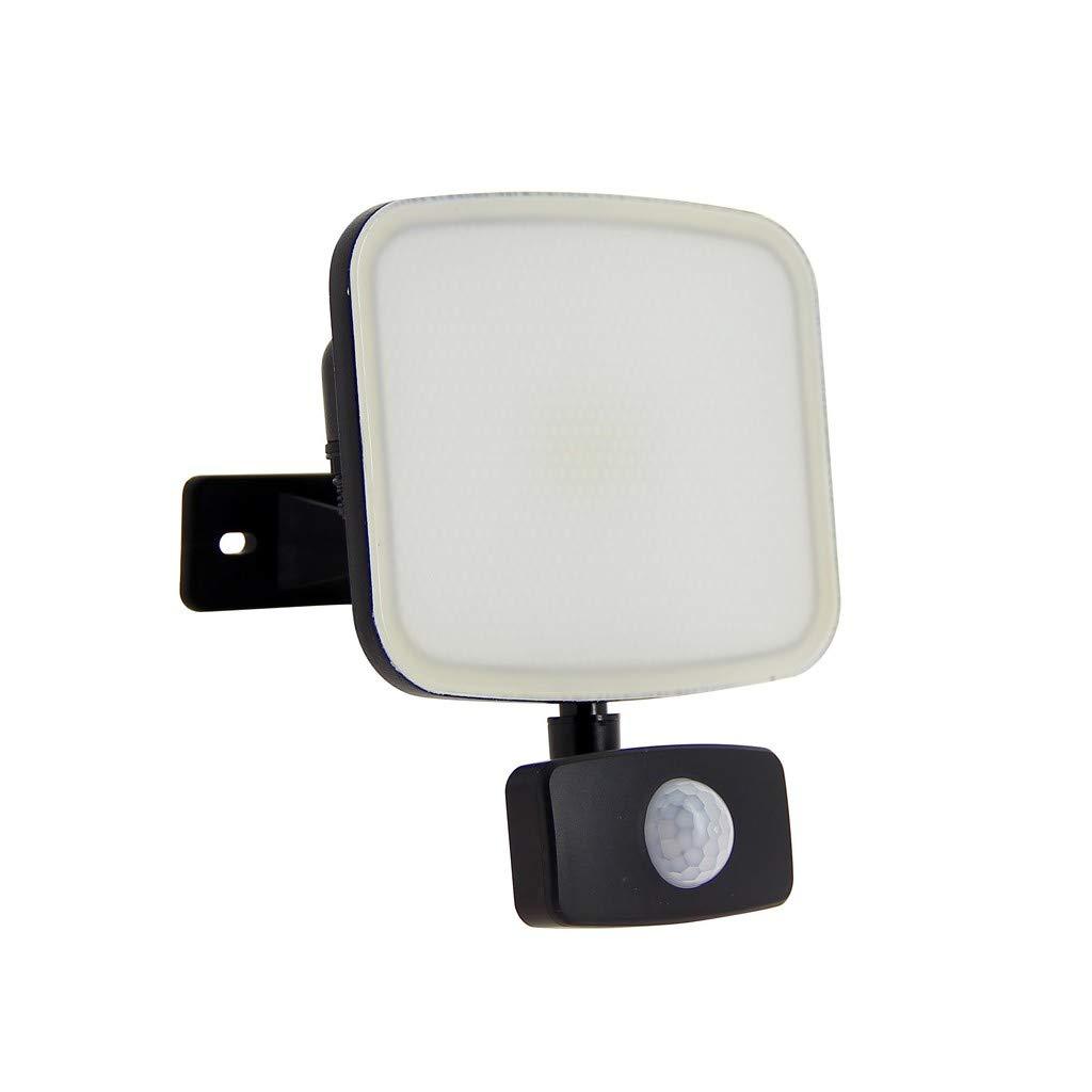 Proyector LED pared - 1400 lumens - Detector de movimiento: Amazon ...