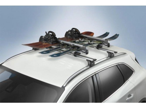 Ford Flat Top - Ford Genuine VDT4Z-7855100-D Flat Roof Top Mounted Ski/Snow Board Carrier
