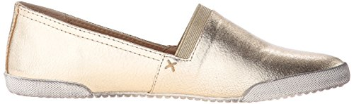 FRYE Womens Melanie Slip-on Fashion Sneaker Gold/Metallic Leather-71177 jyOG5DKY