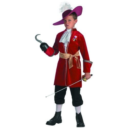 Captain Hook - Size: Child S(4-6) - Childrens Captain Hook Costumes