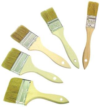 Bon 84-940 1-Inch to 4-Inch Artifact Chip Brush, Set of 5