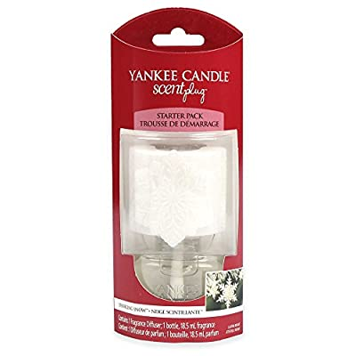 1363216 Sparkling Snow Yankee Candle Electric Home Fragrance Unit