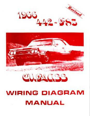 amazon com 1966 oldsmobile 442 cutlass f 85 wiring diagrams automotiveWiring Diagram For 1960 Oldsmobile All Models #18