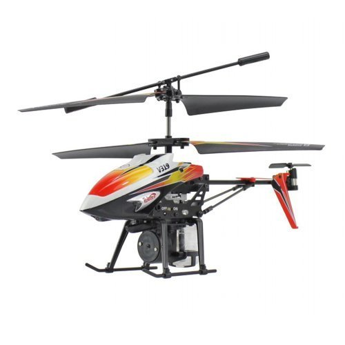 Water Shooting 3.5 CH RC Helicopter Gyro V319 (Colors May Vary)