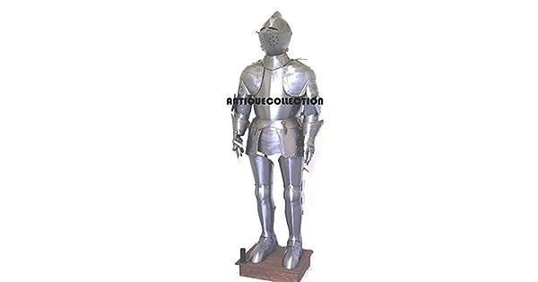 Amazon.com: Antiquecolección, medieval, traje de caballero ...