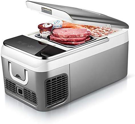 2020 18Lの車のホームポータブル冷蔵庫の大容量家庭用コンプレッサー冷蔵庫の冷蔵冷凍庫DC12V / 220V