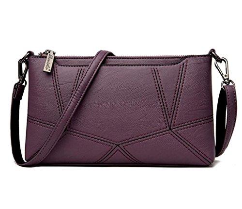 Six Main SHOUTIBAO Ensemble Simple purple Oblique Prenez Sac à Femmes Sacs Votre Couleurs Écharpe Shopping Simple croisé Eqr1qF6wS