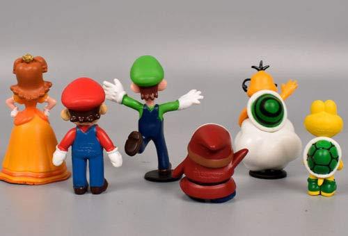 Super Mario Bros Action Figure Doll Playset Figurine Toy Model Dolls 18pcs Lot