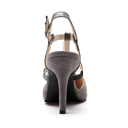 Sandales Gris Gris Femme Sandales Compensées Femme AdeeSu Compensées Sandales AdeeSu Femme Sandales AdeeSu Gris AdeeSu Compensées Fnn8Hx