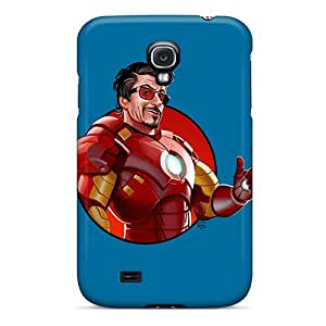 New Style Case Cover SAfLt7810pasRw Iron Man 3 Robert Downey Jr. Compatible With Galaxy S4 Protection Case