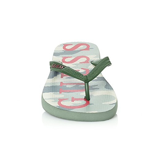Vert Claquettes Camouflage Guess tong Claquettes Camouflage Guess Claquettes Vert tong Guess HCqwRR