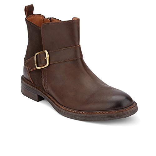 Mens Leather Boots With Buckles - 8