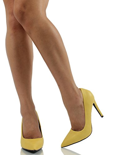 Womens Shoes Fashion Date Pumps Delicious Yellow H pu Hfawqp6
