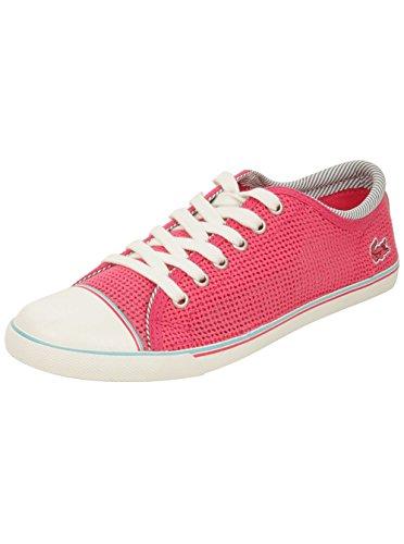 Lacoste Mujeres Shore 5 Ap Sneaker En Rosa 6 W Us