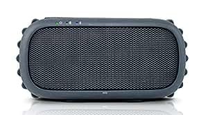 ECOXGEAR - ECOROX Rugged and Waterproof Wireless Bluetooth Speaker - Black
