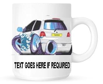 Eminence - Cojín personalizable, satinado, diseño 2746 Renault Twingo de sintonización con taza (personalizable libre): Amazon.es: Hogar
