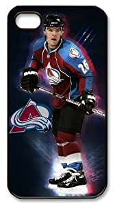 LZHCASE Personalized Protective Case for iPhone 4/4S - NHL Colorado Avalanche #26 Paul Stastny