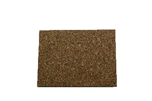 Cork Nature 620609 Superior Sealing Cork Rubber Sheet, 36'' x 36'' x 0.031'' by Amorim Cork 4 U