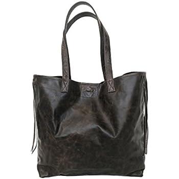 c3a545f5e801 Amazon.com  Fgalaze Distressed Brown Leather Bag