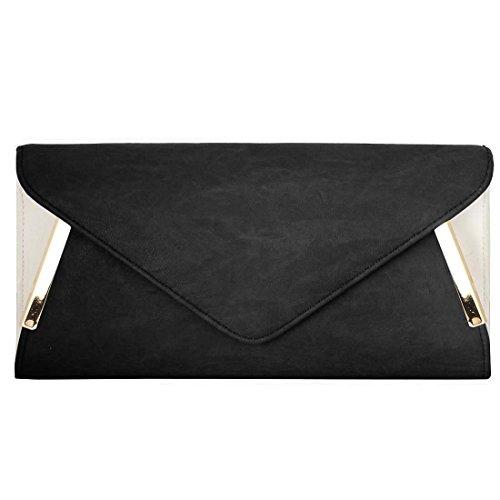 Womens Leather Envelope Fashion Handbag product image