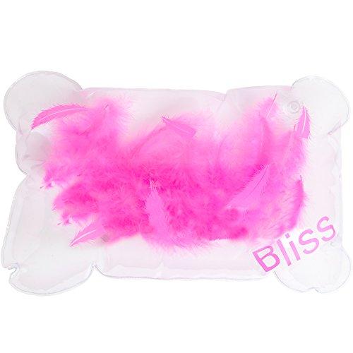 Oreiller de bain - gonflable avec des plumes ! Comprend un Ebook gratuit. S'adapte à n'importe quel taille baignoire - Jacuzzi - Spa - Hot Tub. Best Home baignoire Spa journée, tous les jours !