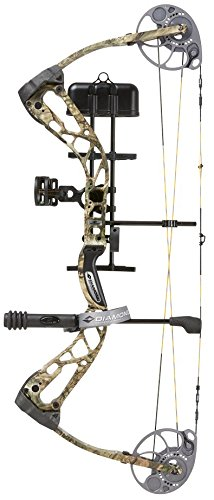 Diamond Archery Edge SB-1 Bow Pkg Breakup Country RH 15-30 7 - 70 Lbs, Mossy Oak Country, Right Hand