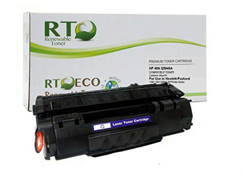 (Renewable Toner Compatible Toner Cartridge Replacement for HP 49A Q5949A LaserJet 1160 1320 3390 3392)