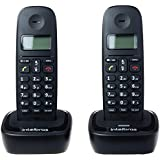 Telefone sem Fio com 1 ramal adicional TS 2512, Intelbras, TS, Preta, Único