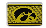Game Day Outfitters NCAA Iowa Hawkeyes Crystal Box Playing Cards