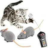 Mini RC Wireless Remote Control Electronic Rat Mouse Mice Toy For Cat Dog Pet