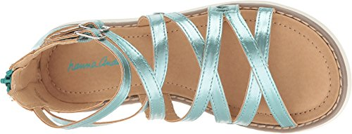 Image of Hanna Andersson Vera Girl's Gladiator Sandal, Poolside, 10 M US Toddler