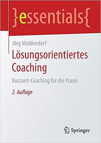 Buchtipp: Lösungsorientiertes Coaching