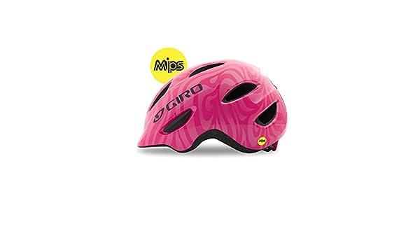 Giro Scamp MIPS Youth/Junior Helmet 2017 XS 45-49CM Bright Pink Swirls: Amazon.es: Deportes y aire libre