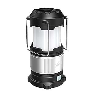 HiHiLL Lampara Camping Farol Camping 21 LED Bombillas Resistente al Agua USB Recargable Batería Incorporada Luz de Emergencia para Camping, Garaje, Balcón, Patio, Árboles, Reparación ( LT-CL01)
