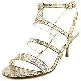 Enzo Angiolini Women's Mercha Synthetic Dress Pump, Metallic/Gold,6 M US