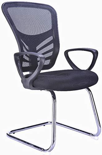 (Hercke Mesh Back Ergonomic Lumbar Support Reception Chair - 19.5