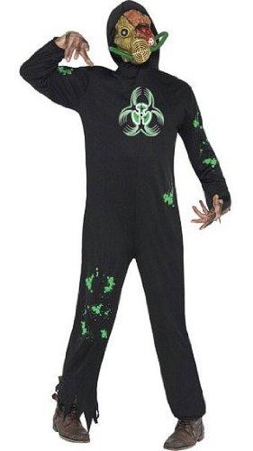 [Smiffy's Bio Hazard Costume Medium] (Radioactive Zombie Costume)