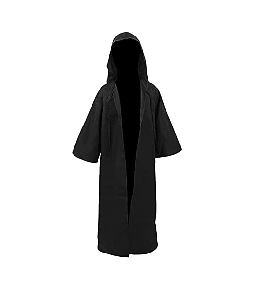 Amazon.com: Kids Tunic Hooded Robe Cloak Caballero Gótico ...