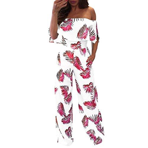 - Casual Off Shoulder Floral Leaf Printed Sparkly WomenCapelet Loose Playsuit