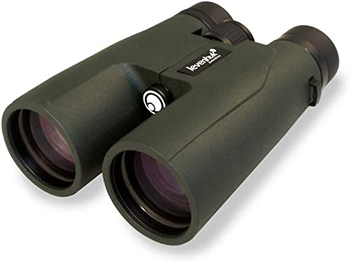 Levenhuk Karma PRO 12×50 Compact Roof Prism Binoculars with Completely Waterproof and Fogproof Body