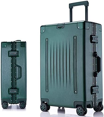 AHJSN 20''24''26''29 '' tamaño de Aluminio Marco rígido Equipaje Maleta de Viaje con Ruedas Maleta Maleta Cabina Maleta Trolley 29