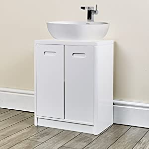 under sink cabinet bathroom white furniture for fitting pedestal sink