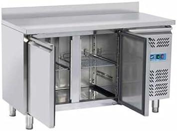 Banco Mesa Nevera congelador Snack 2 Puertas Prof. cm. 60 De ...