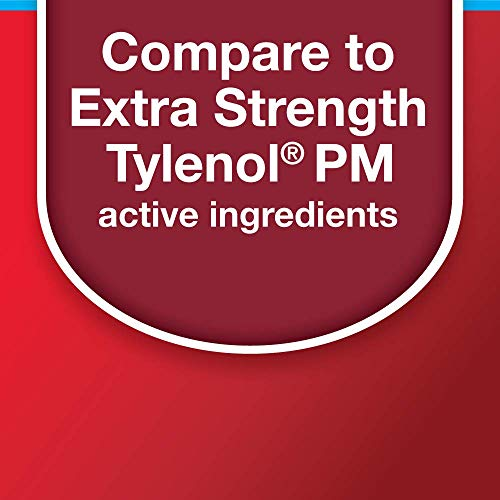Basic Care Extra Strength Acetaminophen PM Caplets, 100 Count by Basic Care (Image #1)