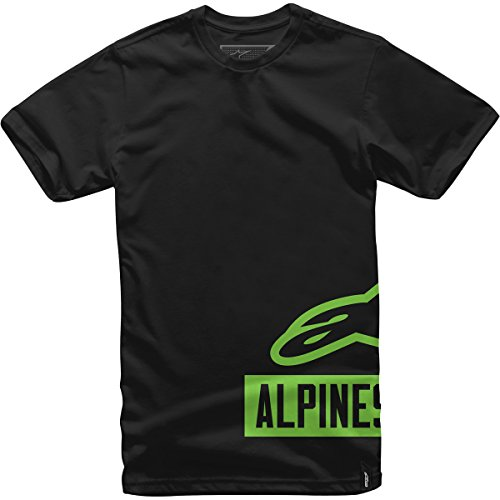[ALPINESTARS Men's Tank Tee, Black/Green, X-Large] (Alpinestars Apparel)