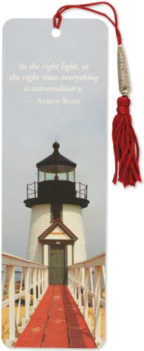 Lighthouse Beaded Bookmark