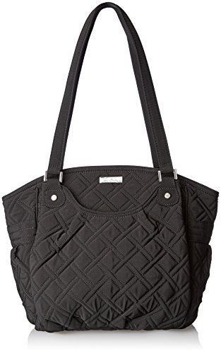 Vera Bradley Glenna 2 Shoulder Bag, Classic Black, One Size by Vera Bradley