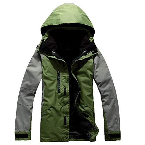 Green Mens Ragazzi Impermeabile Sportivo Traspirante Abbigliamento Herbst Komfortabel Allentata Army Giacca Outdoor Capispalla Herren Giacche Classiche Bw1qxHf