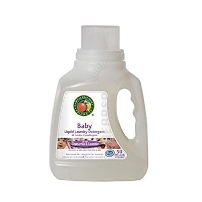 Ecos Liquid Laundry Detergent Free and Clear, 50 OZ by Earth Friendly (Pack of 2)